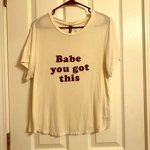 """Babe You Got This"" Graphic Tee"